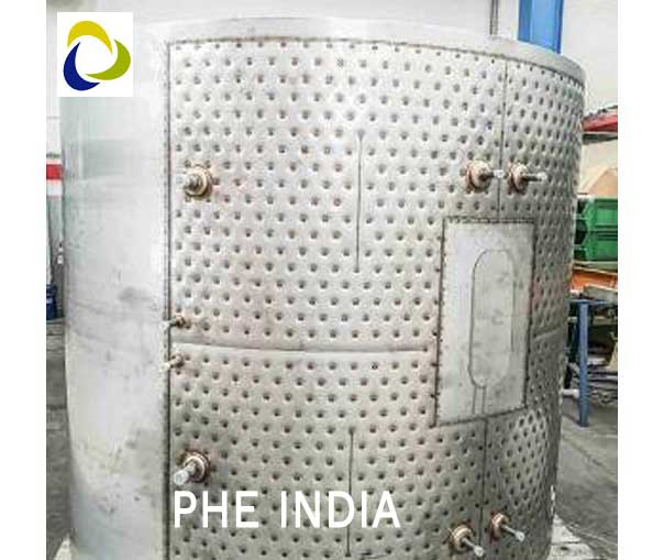 Pillow Plate For Milk Tanks Manufacturers