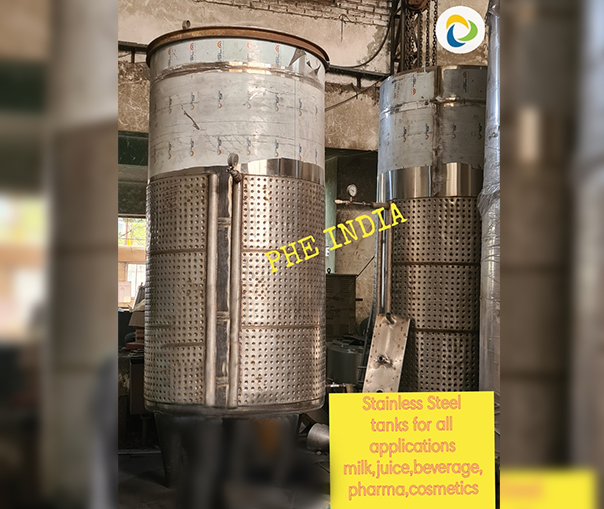 Stainless Steel Milk Tank In Allahabad